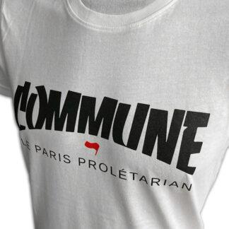 T-Shirt | Commune (Weiß, Fehldruck)